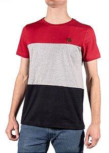 Camiseta Vermelha Com Recorte 192127