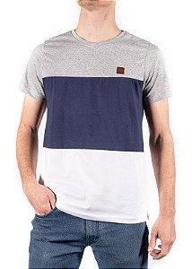 Camiseta Mescla Com Recorte 192127