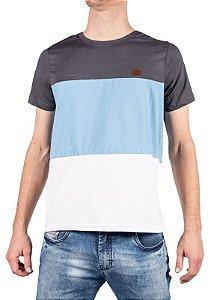 Camiseta Chumbo com Recorte 192127