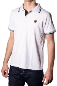 Camisa Polo Piquet Branca 192129