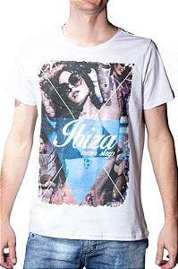 Camiseta Com Estampa Branca 192121