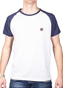 Camiseta Raglan Branca 192125