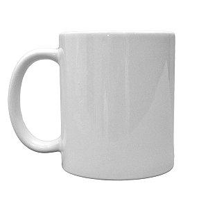 Caneca de Porcelana Branca - Sublimação