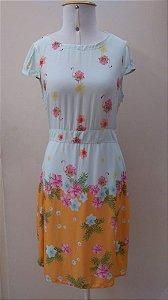 Vestido Flamingos Flowers - Kitson