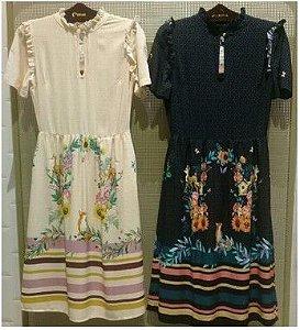 Vestido Estampa Flores - Kitson