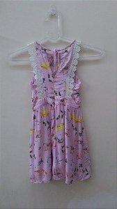 Vestido Rosa - Kitson Mini