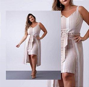 Vestido Shanes Linho Plus Size