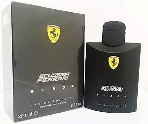 Perfume Ferrari Black Masculino 200ml Original