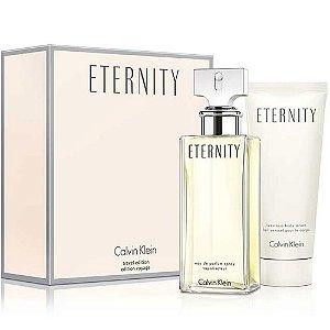 Kit Eternity Feminino Eau De Parfum 100ml + Loção Para Corpo 100ml - Calvin Klein