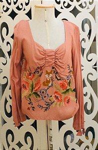 Camisa LHB Rosa Raposinha