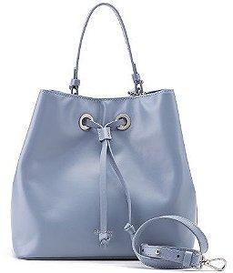 Bucket Bag Sophia | Couro Napa Celeste