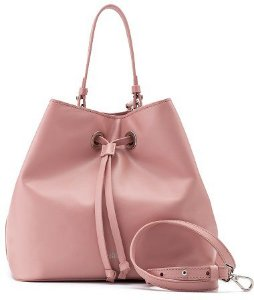 Bucket Bag Sophia | Couro Napa Rosé