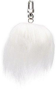Pingente de Pompom | White