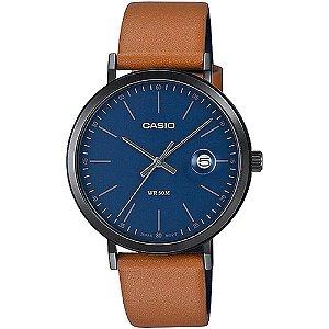 Relógio Casio Collection Masculino MTP-E175BL-2EVDF