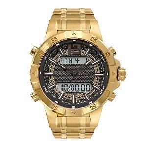 Relógio Condor Masculino Digital Dourado COBJK657AA/4X
