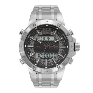 Relógio Condor Masculino Digital Prata COBJK657AB/3K