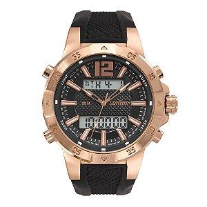 Relógio Condor Masculino Digital Rosé COBJK657AC/4J