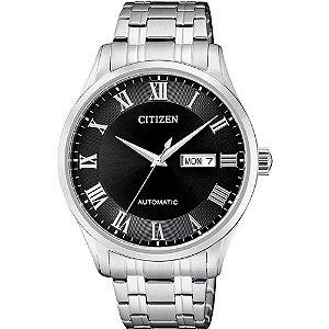 Relógio Citizen Masculino Automático TZ20797T NH8360-80E