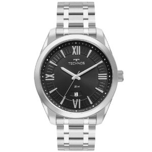 Relógio Technos Masculino Classic Steel 2115MXMS/1P