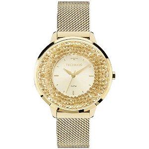 Relógio Technos Feminino Elegance Crystal 2035MLG/4X