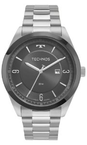 Relógio Technos Classic Steel Masculino 2117LBQ/1C