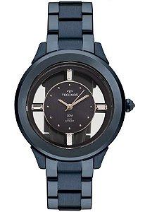 Relógio Technos Feminino Crystal F03101AD/4A
