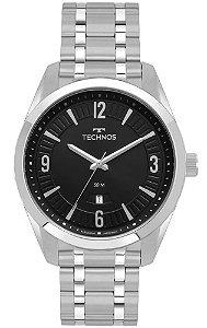 Relógio Technos Classic Steel Masculino 2115MSQ/1P