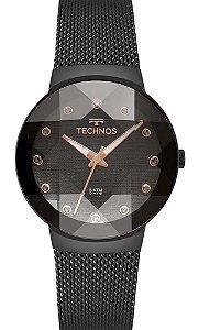 Relógio Technos Feminino Crystal 2035MPY/5P