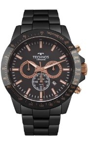 Relógio Technos Masculino Ceramic/Saphire JS25BU/4P