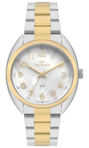 Relógio Technos Feminino Boutique bicolor 2036MLB/5B
