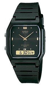 Relógio Casio Unissex AW-48HE-1AVDF