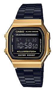 Relógio Casio Unisex Vintage A168WEGB-1BDF