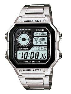 Relógio Casio Masculino Standard AE-1200WHD-1AVDF