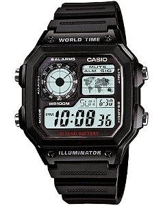 Relógio Casio Masculino Standard AE-1200WH-1AVDF