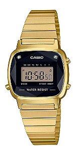 Relógio Casio Vintage LA670WGAD-1DF Diamond