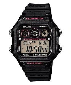 Relógio Casio Masculino AE-1300WH-1A2V