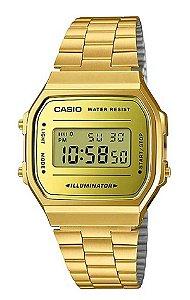 Relógio Casio Unisex Vintage A168WEGM-9DF