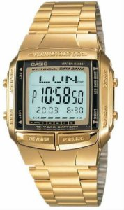 RELÓGIO CASIO MASCULINO DATA BANK DB-360G-9ADF