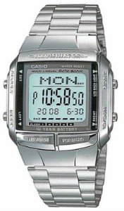 RELÓGIO CASIO MASCULINO DATA BANK DB-360-1ADF