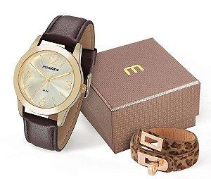 Relógio Mondaine Feminino 83276LPMVDH1K2 + pulseira
