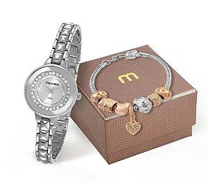 Relógio Mondaine Feminino 83362L0MVNM3K1 + Pulseira