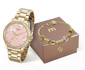 Relógio Mondaine Feminino 99128LPMKDE2K2 + Pulseira