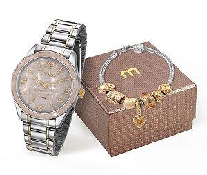 Relógio Mondaine Feminino 99277LPMKBE4K1 + Pulseira
