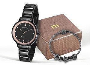 Relógio Mondaine Feminino 53626LPMVPE1K1 + Pulseira
