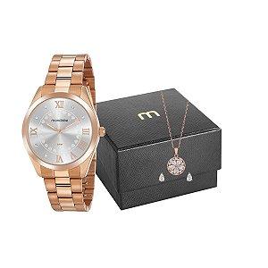Relógio Mondaine Feminino 53918LPMGRE3K1 + pulseira