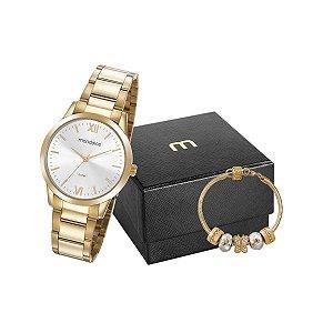 Relógio Mondaine Feminino 53922LPMGDE3K1 + pulseira