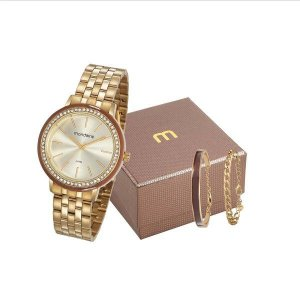 Relógio Mondaine Feminino 53760LPMVDE1K1 com pulseira