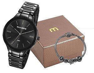 Relógio Mondaine Feminino 53759LPMVPE2K1 + Pulseira