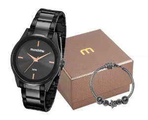 Relógio Mondaine Feminino 53578LPMGPE2K1 com pulseira