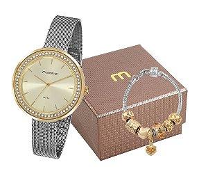 Relógio Mondaine Feminino 53668LPMVBE3K1 com pulseira